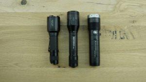 3 Jagd Taschenlampen im Test