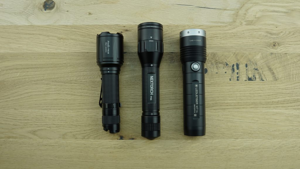 3 Jagd Taschenlampen im Test