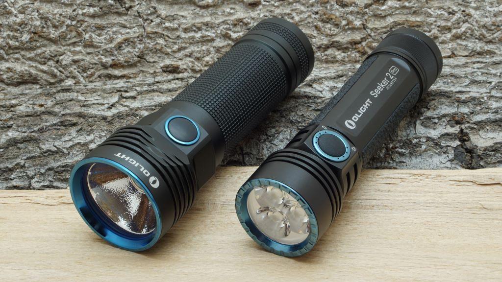 Olight Seeker 2 Pro und Olight R50 Pro Seeker im Vergleich
